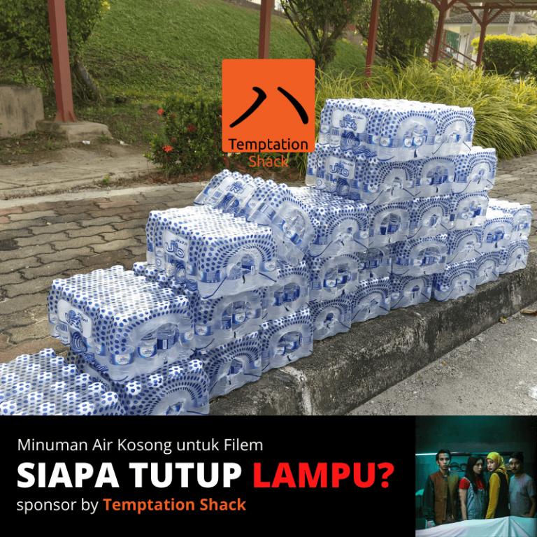 Siapa Tutup Lampu URO Water - Temptation Shack